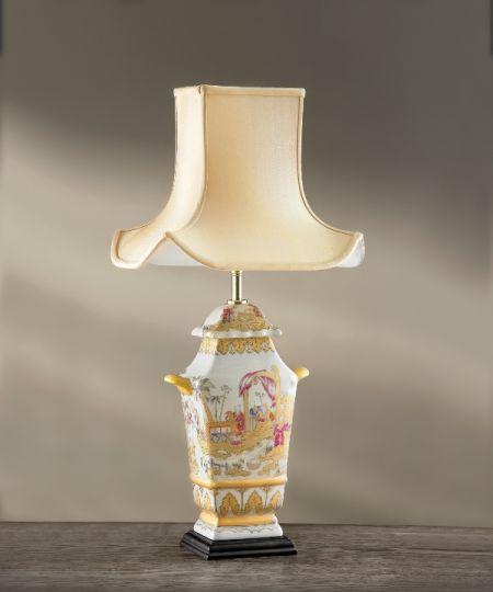 Luis Collection LUI/CHILDREN Painted Children Temple Jar Table Lamp