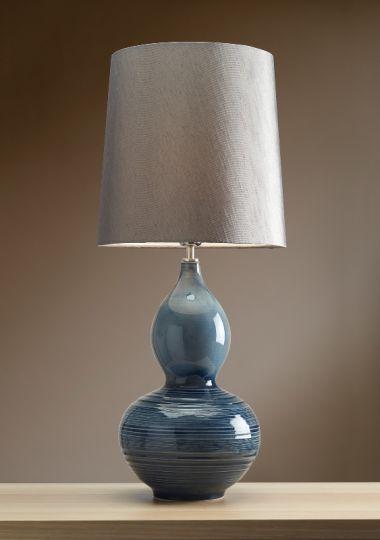 Luis Collection LUI/LAPIS GOURD Lapis Gourd Table Lamp