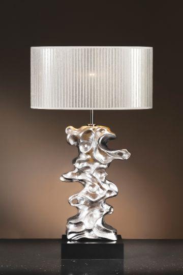 Luis Collection LUI/LIBERO SILV Libero Silver Table Lamp