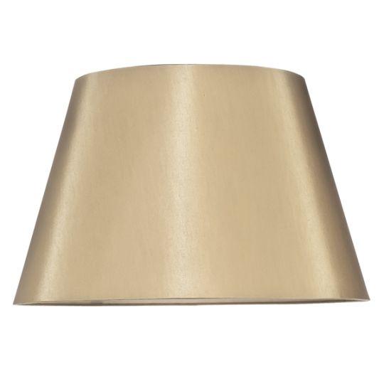 Luis Collection LUI/LS1012 Metalic Gold 46cm Empire Shade