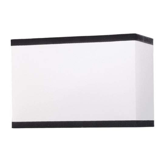Luis Collection LUI/LS1021 Off White 44cm Rectangular Shade