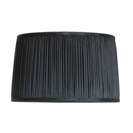 Luis Collection LUI/LS1024 Black 41cm Chiffon Shade