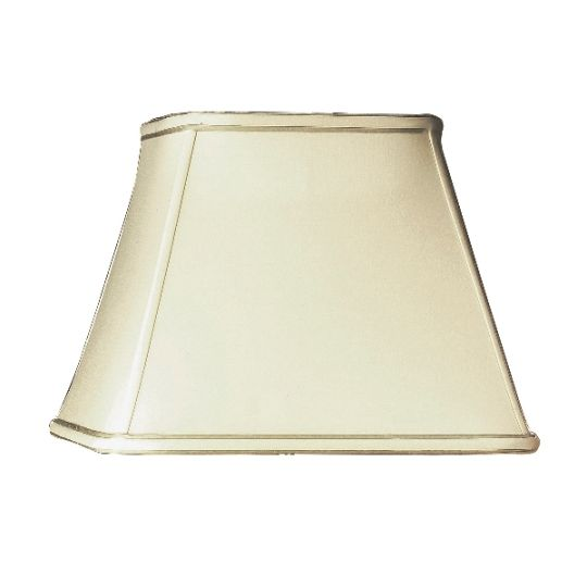 Luis Collection LUI/LS1035 Oyster 33cm Cotton Empire Square Shade