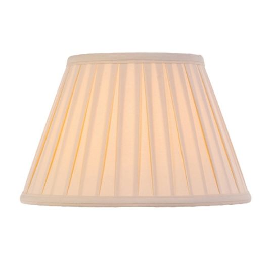 Luis Collection LUI/LS1056 Cotton 12in Box Pleat Oyster