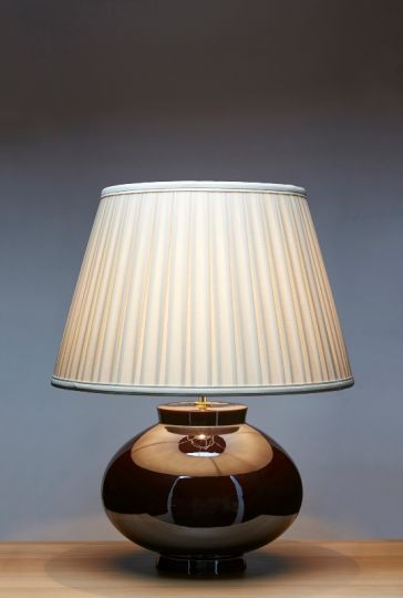 Luis Collection LUI/LUSTRE BROWN Brown Table Lamp