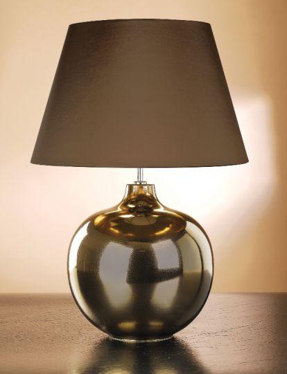 Luis Collection LUI/OTTOMAN Ottoman Bronze Metallic Table Lamp
