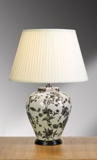 Luis Collection LUI/PEONIES TRAD Peonies Traditional Table Lamp