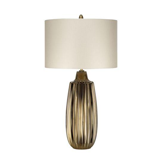 Elstead Lighting Newham 1 Light Large Table Lamp NEWHAM-TL-L