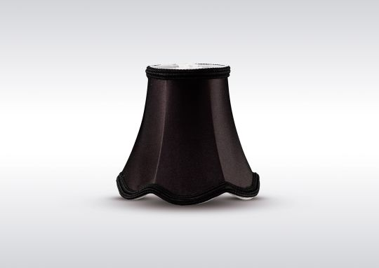 Diyas ILS10601 Onida Clip-On Fabric Shade Black 70/130mm x 120mm