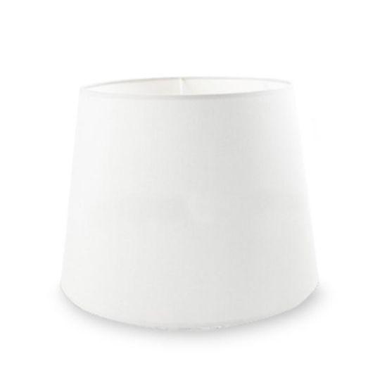 LA CREU Lighting - TORINO White Fabric Shade - PAN-159-14