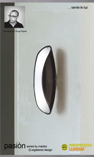 Mantra Lighting M1953 - Pasion Wall Lamp 2 Light Black