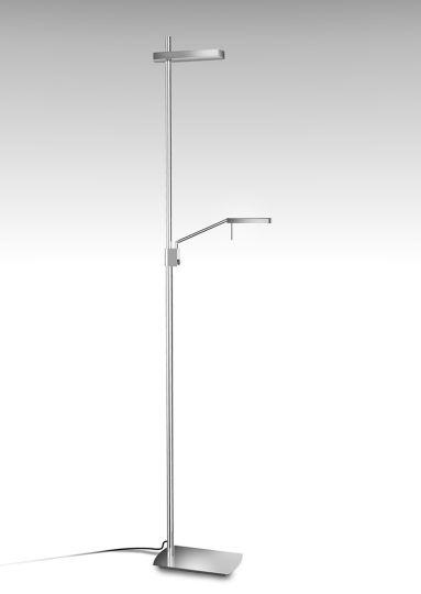 Mantra  M4956 Phuket Floor Lamp 2 Light 21W Down 7W Up LED 3000K 3000lm Polished Chrome 3yrs Warranty