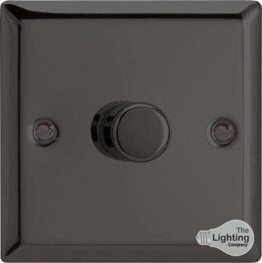 VARILIGHT Lighting - 1 GANG (SINGLE), 1 WAY 400 WATT DIMMER IRIDIUM BLACK - HI1