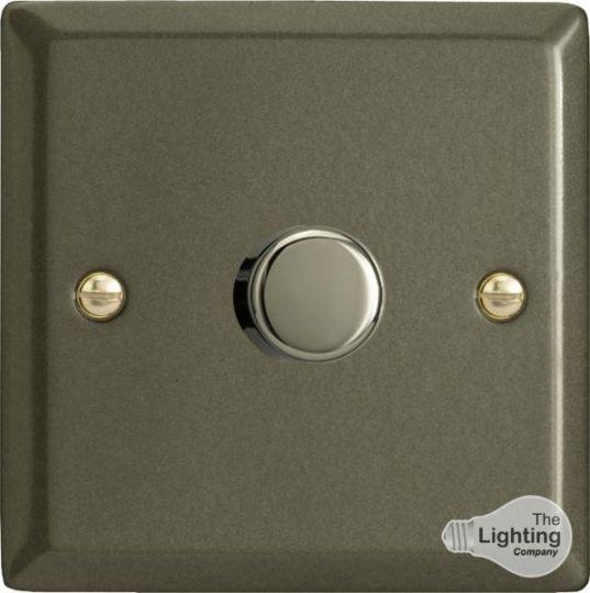 VARILIGHT Lighting - 1 GANG (SINGLE), 1 WAY 400 WATT DIMMER GRAPHITE 21 - HP1
