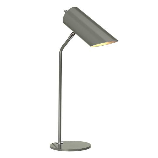 Elstead Lighting Quinto 1 Light Table Lamp - Dark Grey Polished Nickel QUINTO-TL-GPN