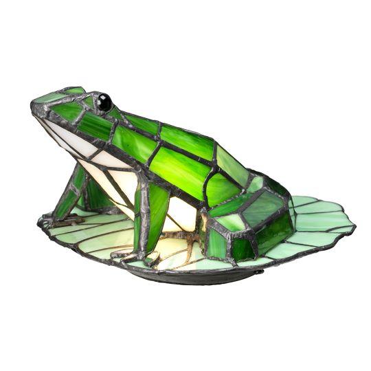Quoizel Tiffany Animal Lamps Frog Tiffany Lamp QZ-FROG-TL