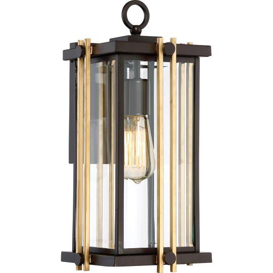Quoizel Goldenrod 1 Light Medium Wall Lantern QZ-GOLDENROD2-M