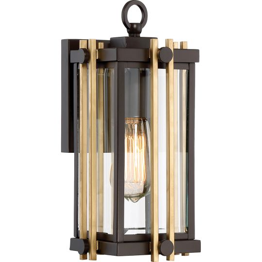 Quoizel Goldenrod 1 Light Small Wall Lantern QZ-GOLDENROD2-S