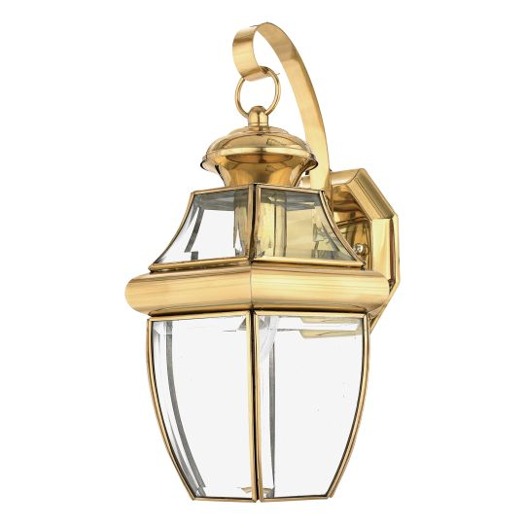 Quoizel Newbury 1 Light Medium Wall Lantern QZ-NEWBURY2-M-PB