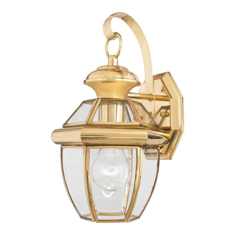 Quoizel Newbury 1 Light Small Wall Lantern QZ-NEWBURY2-S-PB