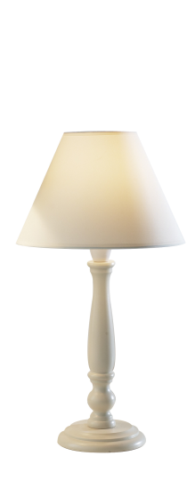 Dar Lighting REG4233 - Regal Table Lamp 10 inch Cream complete with 9 inch COO0933 Shade