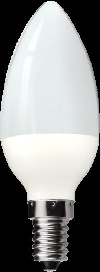 LED 5.5w Pearl Candle Bulb - Small Screw - Warm White