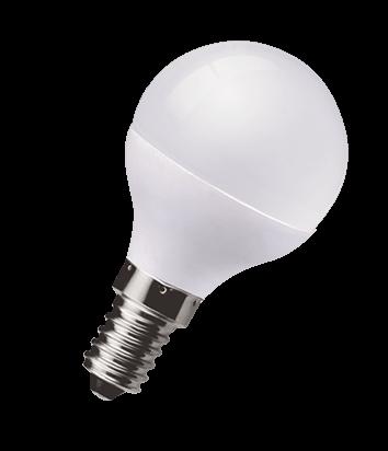 LED 5W Pearl Golf Ball Bulb - Small Screw