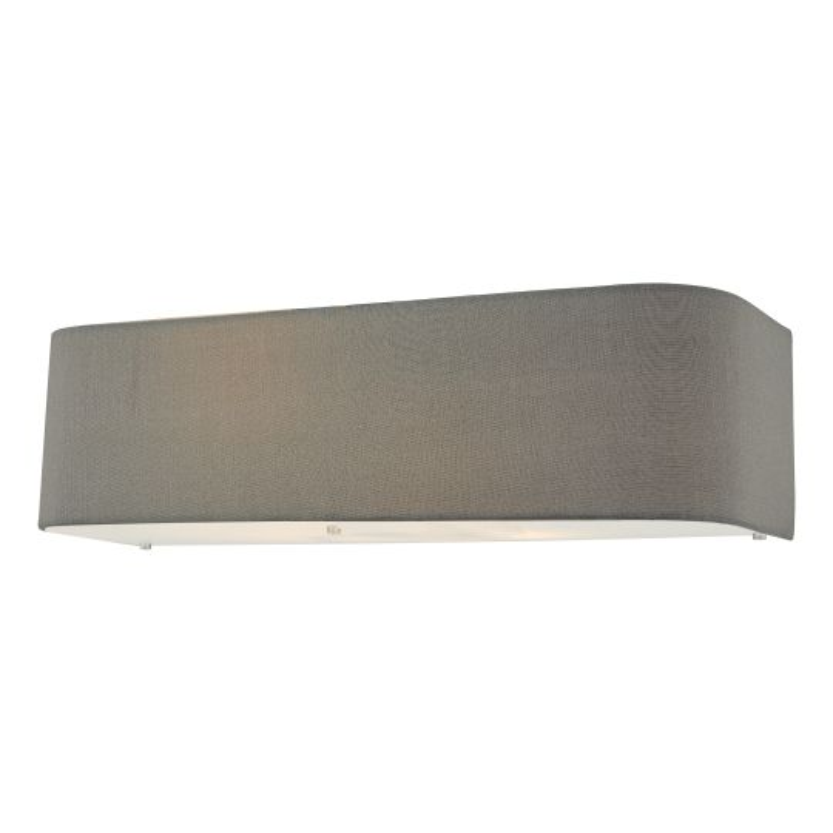Dar Lighting Ronda 2 Light Wall Light Grey RON0939