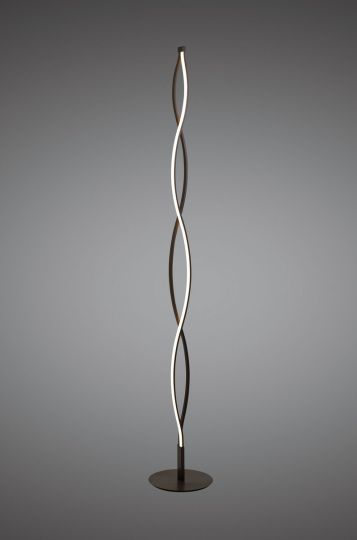 Mantra M5802 Sahara XL Floor Lamp 28W LED 2800K 2200lm Dimmable Frosted Acrylic/Brown Oxide 3yrs Warranty