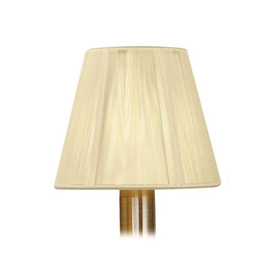 Mantra Lighting - 13cm Silk String Clip On Shade Ivory Cream - MS005