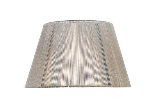 Mantra Lighting - 30cm Silk String Shade Silver Grey - MS033