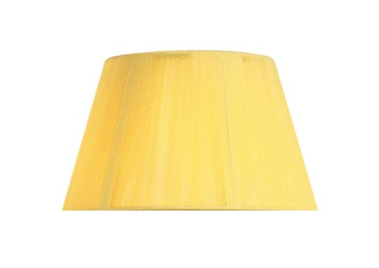 Mantra Lighting - 30cm Silk String Shade Amber Cream - MS037