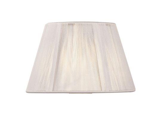 Mantra Lighting - 30cm Silk String Shade Ivory White - MS040
