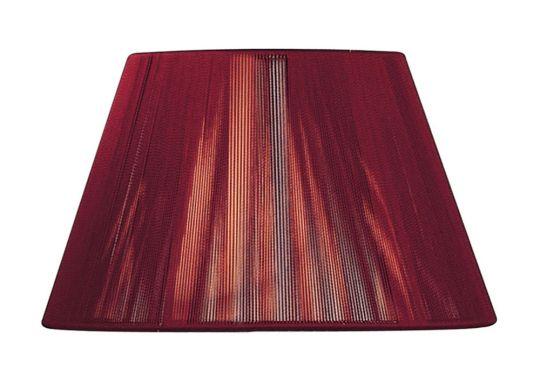 Mantra Lighting - 40cm Silk String Shade Red Wine - MS044
