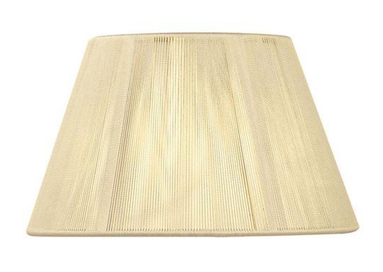 Mantra Lighting - 40cm Silk String Shade Ivory Cream - MS045