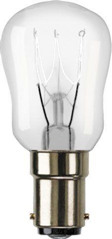 15W Clear Pygmy Bulb - Small Bayonet