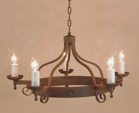 Impex Lighting - Forge 5lt Aged