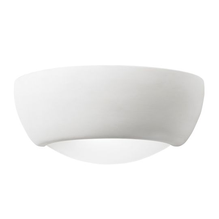 Endon Ug-Wb-X - Eton 1Lt Wall 60W Unglazed Ceramic Indoor Wall Light