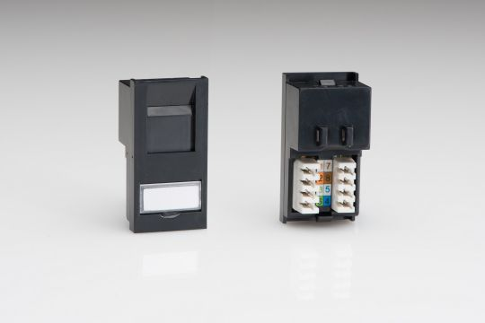 VARILIGHT Lighting - FOR CAT5E NETWORK APPLICATIONS. USE WITH DATA GRID PLATES - Z2GRJ45B