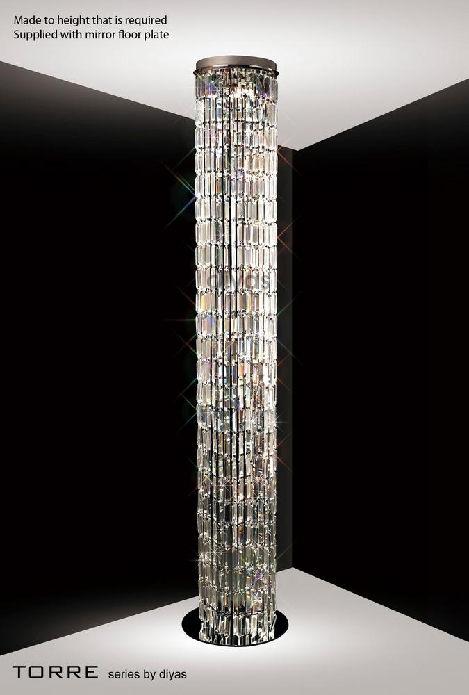 Diyas Lighting Torre Pendant Plate Only 4 Light